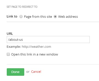 page-redirect