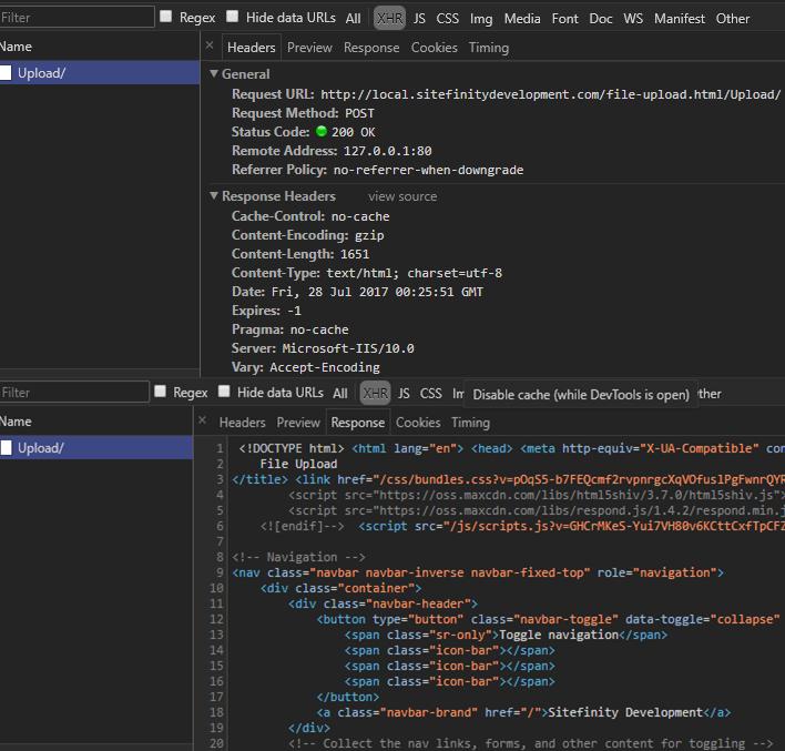 Uploading Files to Sitefinity Asynchronously Using Kendo UI